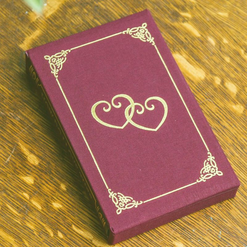 How Do I Love Thee Customized Leather Book 5351 7