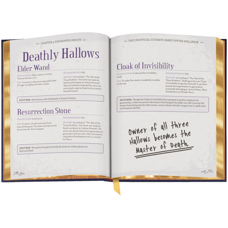 The Unofficial Ultimate Harry Potter Spellbook 3594 3