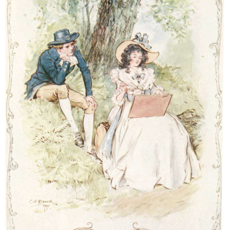 Jane Austen By Design 3557 f sprd