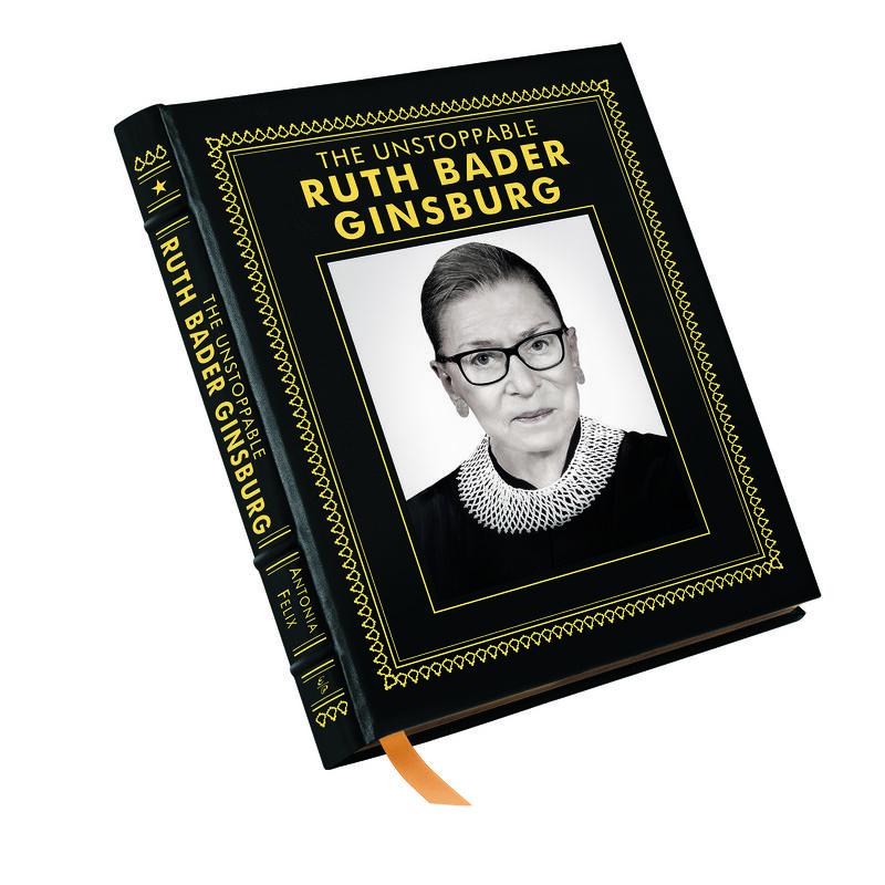 The Unstoppable Ruth Bader Ginsburg 3735 a cvr