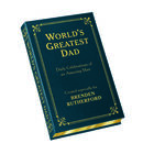 Personalized Leather Father Quote Book 5743 1