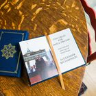 Personalized Leather Book Honoring President Ronald Reagan 5617 3