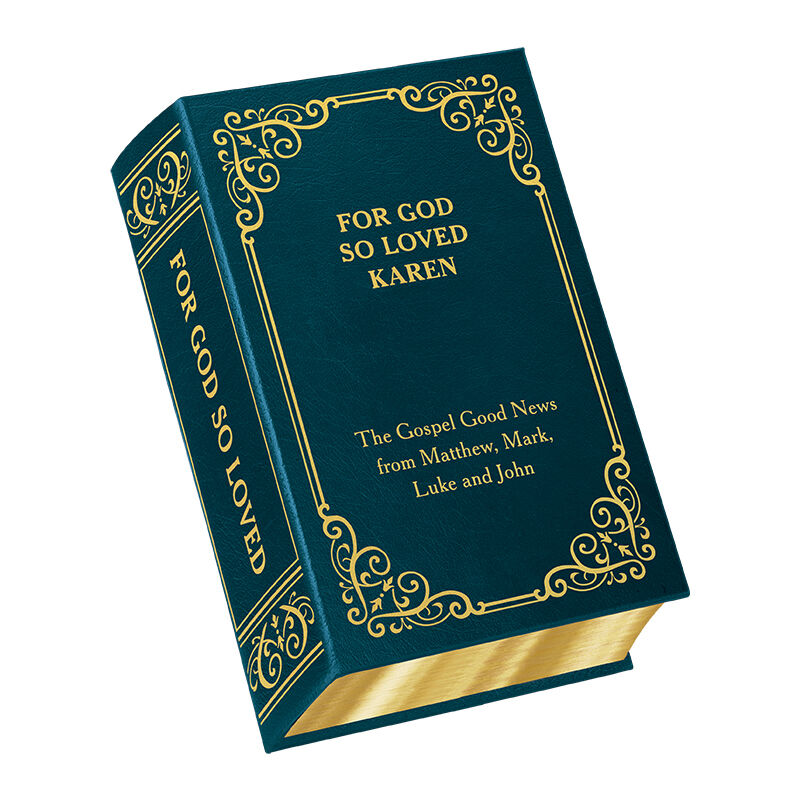 For God So Loved   Personalized Book 5878 1