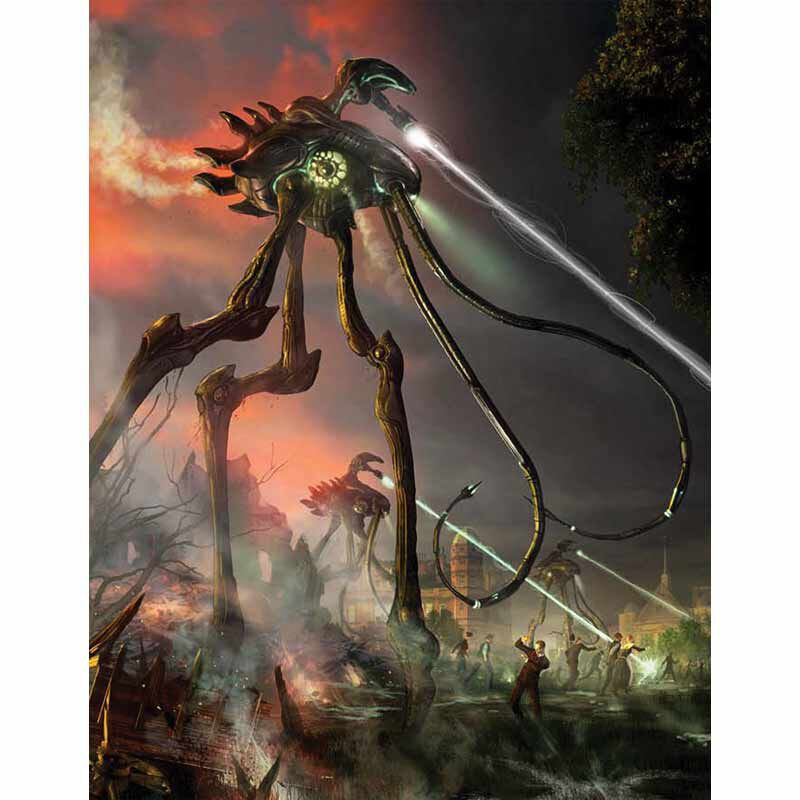 The War of the Worlds Signed Edition 2968 10