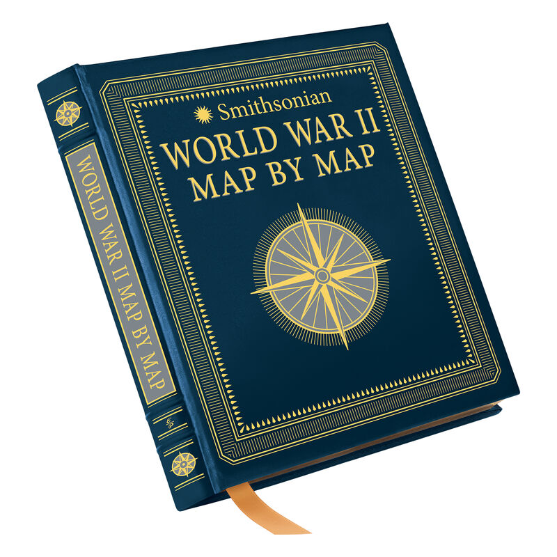 Smithsonian WWII Map by Map 3614 1 cover