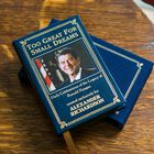 Personalized Leather Book Honoring President Ronald Reagan 5617 2