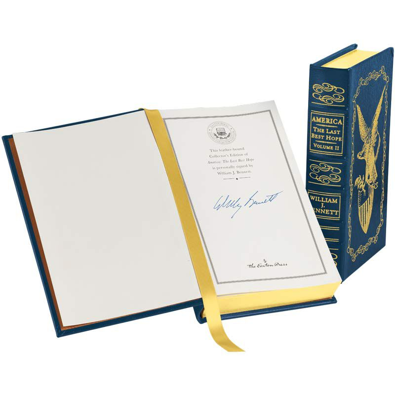 America The Last Best Hope A Signed Edition 2185 2