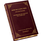 How Do I Love Thee Customized Leather Book 5351 1