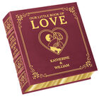 Personalized Our Little Book Of Love 5434 1