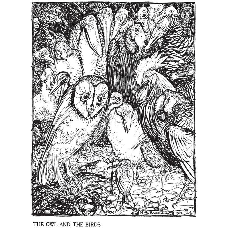 Rackham Aesops Fables 3627 9