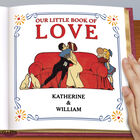 Personalized Our Little Book Of Love 5434 9