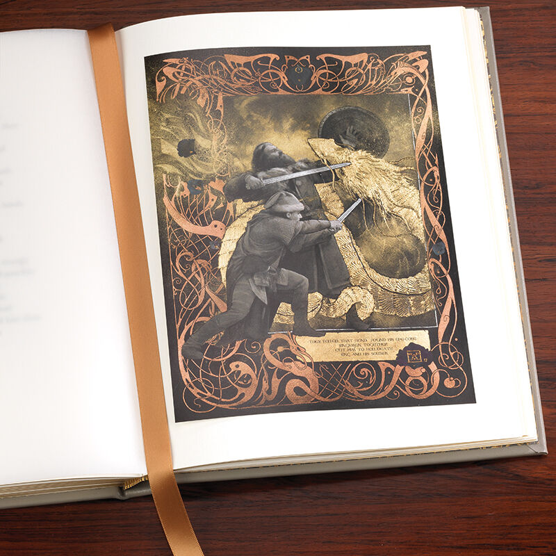 Beowulf A Deluxe Illustrated Edition 3336 8