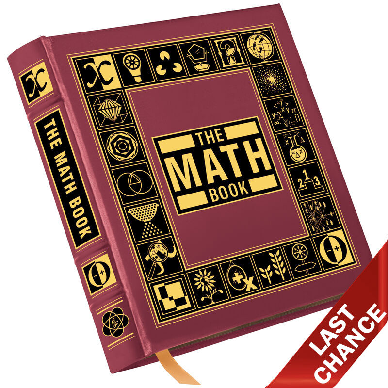 THE MATH BOOK 3631 LQ